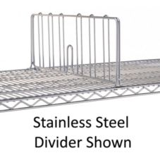 "Metro® DD24-D Super Erecta® Designer 24"" x 8"" Shelf Divider"