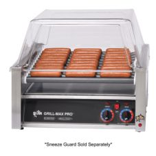 Star® Mfg Grill-Max® Elec 30-Hot Dog Duratec® Roller Grill