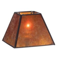 Hollowick® 934A Mica Four Sided Candlestick Shade