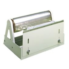 "Bulman White 18"" Food Wrap Film Dispenser"