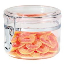 OGGI™ 5362 Clear 22 Oz. Acrylic Airtight Canister with Clamp