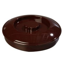 "Carlisle® 47001 7-1/2"" Brown Tortilla Server with Lid"