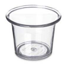 Carlisle® 250007 2.5 Oz. Clear Sauce Cup - Dozen