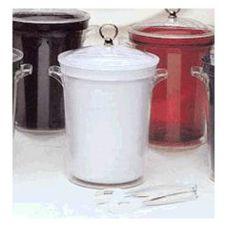 Wescon 09 1370 Harmony White 4 Qt. Ice Bucket