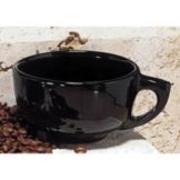 Diversified DC1345-BK Black 14 Oz. Jumbo Latte / Soup Cup - 24 / CS
