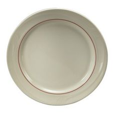 "Oneida F1040728117 Accent Burgundy 6-1/4"" Plate - 36 / CS"