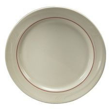"Oneida® F1040728139 Accent Burgundy 9"" Plate - 24 / CS"