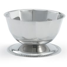 Vollrath® 46701 S/S 16 Oz. Gadroon Base Paneled Sherbet Bowl