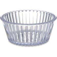 Carlisle Fluted Ramekin, Clear, 4.5 oz