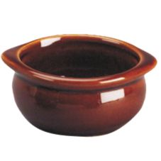 Diversified DC12B-LB Laredo Brown 10 Oz. Onion Soup Bowl - 24 / CS