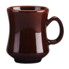 Diversified Ceramics Lennox Brown 8.5 oz Madrid Mug