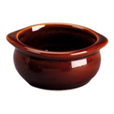 Diversified DC12A-LB Laredo Brown 7 Oz. Onion Soup Bowl - 24 / CS