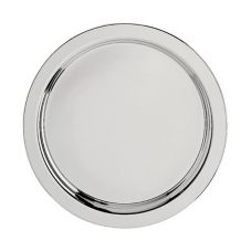 "Oneida® J0015201A Noblesse Round S/S 12"" Tray"