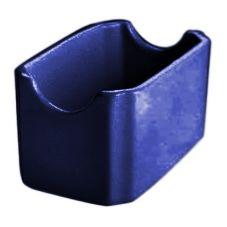 Hall® China 30716105 Cobalt Blue Sugar Packet Holder - 24 / CS