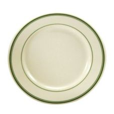 Oneida® F1500002124 Buffalo Saratoga Green RE Plate - 36 / CS