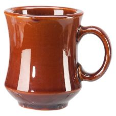 Vertex NPT-C Brown Accessories 8 Oz. Caramel Newport Mug - 36 / CS