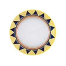 "Homer Laughlin China 2058086 Riviera Salerno© 9"" Plate - 24 / CS"