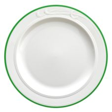 "Homer Laughlin China Lyrica® Lydia Green 9-3/4"" Plate"