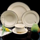 Homer Laughlin China Cavalier Diplomat 7.75 oz Teacup
