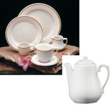 Homer Laughlin China 364702 Lexington 17 Oz. Beverage Server - Dozen