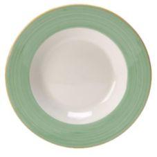 "Steelite 15290314 Simplicity Rio Green 10.6"" Pasta Dish - 12 / CS"