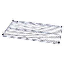 "Metro® 1442NS Super Erecta 14"" x 42"" S/S Wire Shelf"