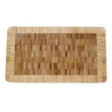 "Tag 495128 Natural Bamboo 14"" x 8"" x 1"" Cutting Board - 4 / CS"