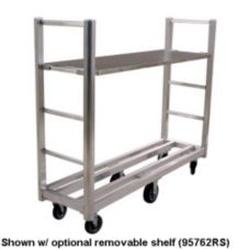 New Age Industrial 95762 Single Platform1500 Lb Capacity U-Boat Cart
