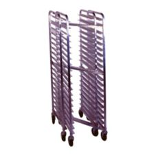 Win-Holt® SS-1820N Full Height Mobile Nesting Pan Rack for 40 Pans