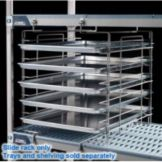 "Metro® MX18SE MetroMax i® 18"" Adjustable Tray Slides"