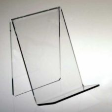 Clear Solutions 8110 Clear Acrylic Countertop Book Stand without Lip