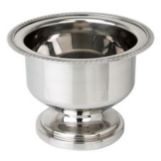 "Eastern Tabletop 7980 S/S 6-1/2"" Table Ice Bucket With Gadroon Border"