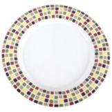 "Carlisle® 43025918 Durus 12"" Mediterranean Tile Dinner Plate"