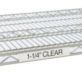 "Metro® 9990CL 3"" Clear Label Holders For Super Erecta® Shelves"