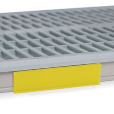 "Metro® CSM6-YX MetroMax i® Yellow 6"" Shelf Marker"
