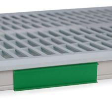 "Metro® CSM6-GX MetroMax i® Green 6"" Shelf Marker"