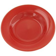 World Tableware MB-3-R Montego Bay Red Deep 12 oz Soup Bowl - 24 / CS