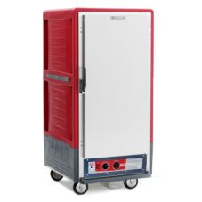 Metro® C537-HFS-U Red C5 3 Series 3/4 Height Solid Holding Cabinet