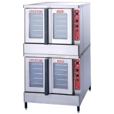 Blodgett Electric XCEL Conv Double Deck Oven w/ 2 Base Sections
