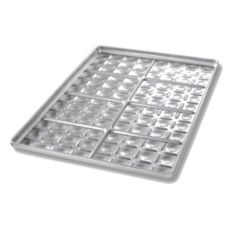 Chicago Metallic Bakeware Slider Bun Pan with 8 Rows of 12