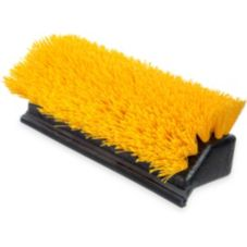 "Carlisle® 4042100 10"" Hi-Lo Floor Scrub Brush with Squeegee"