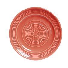 "Tuxton® CNA-090 Concentrix® 9"" Round Cinnebar Plate - 24 / CS"