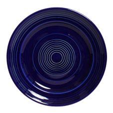 "Tuxton CCA-104 Concentrix 10-1/2"" Round Cobalt Plate - 12 / CS"