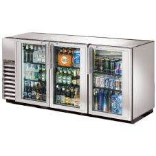 True TBB-24GAL-72G-S-LD Swing Door Back Bar Cooler For 150 6-Packs