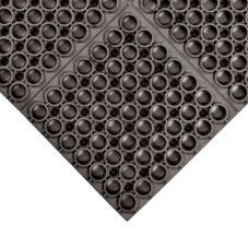 "NoTrax® 065-590 Hercules® 39 x 19-1/2"" Black Floor Mat"