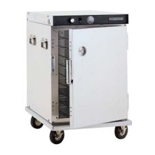 CresCor H-339-1813C Mobile Aluminum Heated Cabinet with Pan Slides