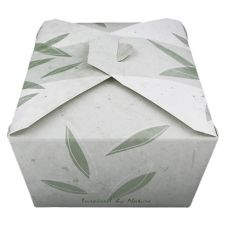 "GSD Packaging 04BPNATURM ""Inspired By Nature"" Container - 160 / CS"