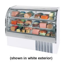 "Beverage-Air Marketeer® 61"" Black Refrigerated Display Case"