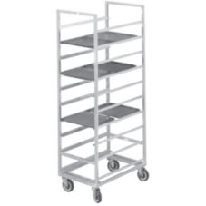 "Channel Cafeteria Tray Rack, Holds (20) 15"" X 20"" Trays"