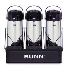 BUNN® 25371.0003 Single Level Serving Rack for 3 Airpots